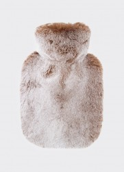 HOT-WATER-BOTTLE (BEIGE SNOW-TOP)